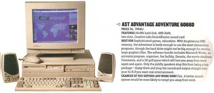 AST Advantage 6066D (1994)